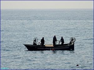 Pêche à la poutina à Vintimille